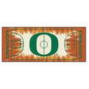 Fanmats 18507 Oregon Basketball Court Runner 30