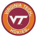 Fanmats 18646 Virginia Tech Roundel Mat 27