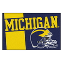 Fanmats 18759 Michigan Uniform Starter Rug 19
