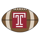 Fanmats 1903 Temple Football Rug 20.5