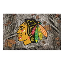 Fanmats 19135 NHL - Chicago Blackhawks Scraper Mat 19