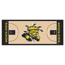 Fanmats 19250 Wichita State Basketball Court Runner 30