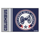Fanmats 19260 Columbus Blue Jackets Uniform Starter Rug 19