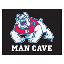 Fanmats 19284 Fresno State Man Cave All-Star Mat 33.75