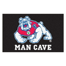 Fanmats 19287 Fresno State Man Cave Tailgater Rug 59.5