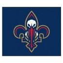 Fanmats 19460 NBA - New Orleans Pelicans Tailgater Rug 59.5