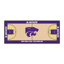 Fanmats 19511 Kansas State Basketball Court Runner 30