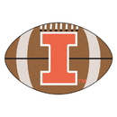 Fanmats 1957 Illinois Football Rug 20.5