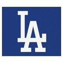 Fanmats 20331 MLB - Los Angeles Dodgers 'LA' Tailgater Rug 59.5