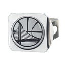 Fanmats 20407 NBA - Golden State Warriors Chrome Hitch Cover 3.4