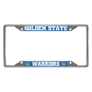 Fanmats 20409 NBA - Golden State Warriors License Plate Frame 6.25