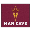Fanmats 20653 Arizona State Man Cave Tailgater Rug 59.5
