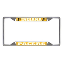 Fanmats 20861 NBA - Indiana Pacers License Plate Frame 6.25