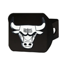 Fanmats 21011 NBA - Chicago Bulls Black Hitch Cover 3.4