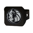 Fanmats 21012 NBA - Dallas Mavericks Black Hitch Cover 3.4