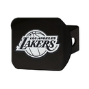Fanmats 21013 NBA - Los Angeles Lakers Black Hitch Cover 3.4