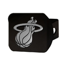 Fanmats 21014 NBA - Miami Heat Black Hitch Cover 3.4