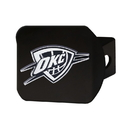 Fanmats 21016 NBA - Oklahoma City Thunder Black Hitch Cover 3.4