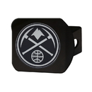Fanmats 21022 NBA - Denver Nuggets Black Hitch Cover 3.4