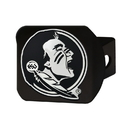Fanmats 21029 Florida State Black Hitch Cover 3.4