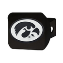Fanmats 21031 Iowa Black Hitch Cover 3.4