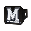 Fanmats 21036 Maryland Black Hitch Cover 3.4