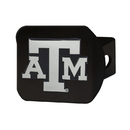Fanmats 21051 Texas A&M Black Hitch Cover 3.4