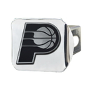 Fanmats 21323 NBA - Indiana Pacers Chrome Hitch Cover 3.4