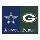 Fanmats 21804 NFL - Bears - Packers House Divided Rug 33.75