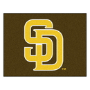 Fanmats 22331 MLB - San Diego Padres Brown/Yellow All-Star Mat 33.75