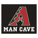 Fanmats 22373 MLB - Arizona Diamondbacks Man Cave Tailgater Rug 59.5