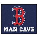 Fanmats 22385 MLB - Boston Red Sox Man Cave Tailgater Rug 59.5
