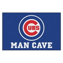 Fanmats 22387 MLB - Chicago Cubs Man Cave Starter Rug 19