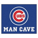 Fanmats 22389 MLB - Chicago Cubs Man Cave Tailgater Rug 59.5