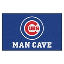 Fanmats 22390 MLB - Chicago Cubs Man Cave UltiMat 59.5