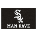 Fanmats 22394 MLB - Chicago White Sox Man Cave UltiMat 59.5