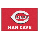 Fanmats 22398 MLB - Cincinnati Reds Man Cave UltiMat 59.5