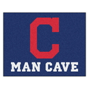 Fanmats 22400 MLB - Cleveland Indians Man Cave All-Star Mat 33.75
