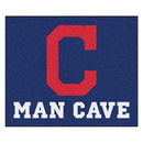 Fanmats 22401 MLB - Cleveland Indians Man Cave Tailgater Rug 59.5