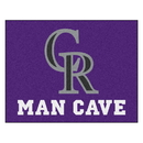 Fanmats 22404 MLB - Colorado Rockies Man Cave All-Star Mat 33.75