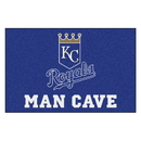 Fanmats 22415 MLB - Kansas City Royals Man Cave Starter Rug 19