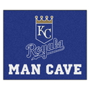Fanmats 22417 MLB - Kansas City Royals Man Cave Tailgater Rug 59.5
