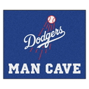 Fanmats 22425 MLB - Los Angeles Dodgers Man Cave Tailgater Rug 59.5