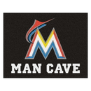 Fanmats 22428 MLB - Miami Marlins Man Cave All-Star Mat 33.75