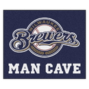 Fanmats 22433 MLB - Milwaukee Brewers Man Cave Tailgater Rug 59.5