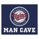Fanmats 22437 MLB - Minnesota Twins Man Cave Tailgater Rug 59.5