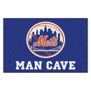 Fanmats 22439 MLB - New York Mets Man Cave Starter Rug 19