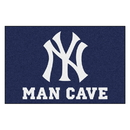 Fanmats 22443 MLB - New York Yankees Man Cave Starter Rug 19