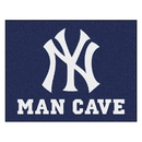 Fanmats 22444 MLB - New York Yankees Man Cave All-Star Mat 33.75
