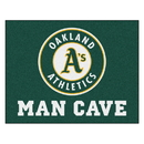 Fanmats 22448 MLB - Oakland Athletics Man Cave All-Star Mat 33.75